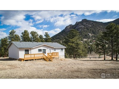 Estes Park Single Family Home For Sale: 1024 Fairway Ln