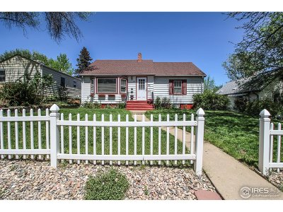 Longmont Single Family Home For Sale: 1616 3rd Ave