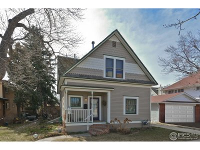 Longmont Single Family Home For Sale: 819 6th Ave