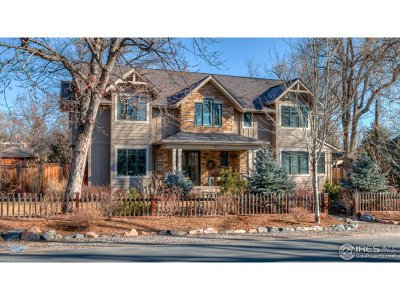 Boulder CO Single Family Home For Sale: $5,000,000