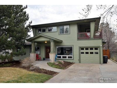 Boulder CO Single Family Home For Sale: $899,900