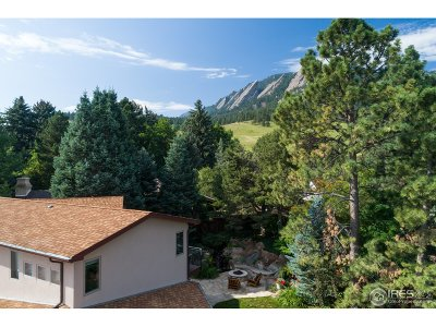 Boulder CO Single Family Home For Sale: $3,950,000