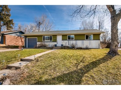 Boulder CO Single Family Home For Sale: $740,000