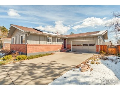 Boulder CO Single Family Home For Sale: $925,000