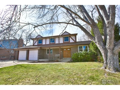Boulder Single Family Home For Sale: 7722 Essex Pl
