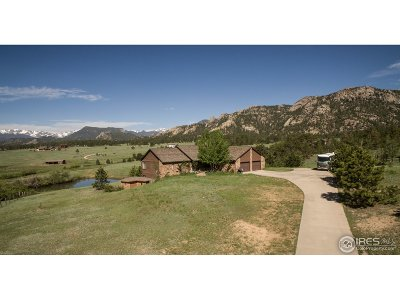 Estes Park Single Family Home For Sale: 1593 Dry Gulch Rd