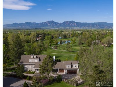 Boulder CO Single Family Home For Sale: $3,999,500