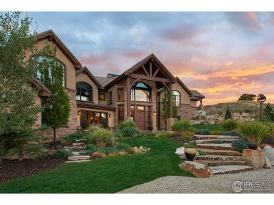 Longmont Single Family Home For Sale: 6610 Rabbit Mountain Rd