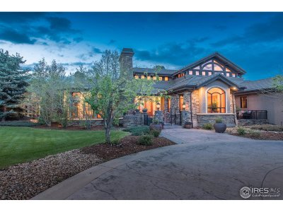Boulder CO Single Family Home For Sale: $2,900,000