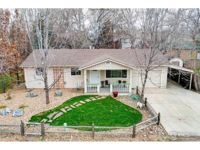 Niwot Single Family Home For Sale: 243 E 4th Ave