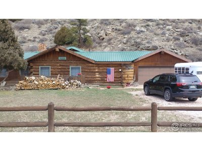 Bellvue Single Family Home For Sale: 32224 Poudre Canyon Rd