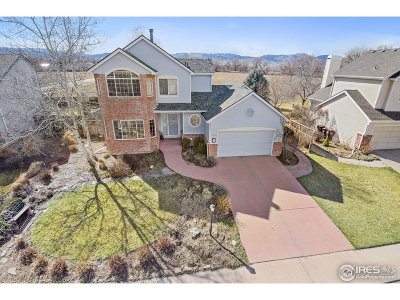 Boulder Single Family Home For Sale: 4673 Tally Ho Ct