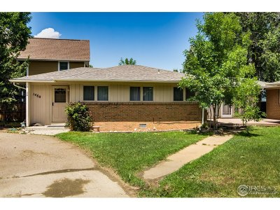 Boulder County Single Family Home For Sale: 1468 55th St
