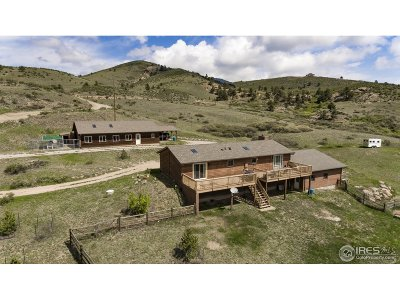 Lyons Single Family Home For Sale: 876 Stagecoach Trl