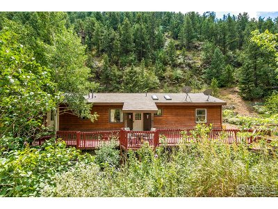 Boulder Single Family Home Active-Backup: 8455 Fourmile Canyon Dr