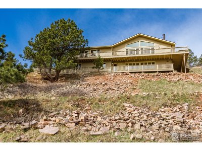 Boulder Single Family Home For Sale: 6513 Red Hill Rd