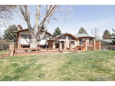 Fort Collins Single Family Home For Sale: 2121 Stonecrest Dr