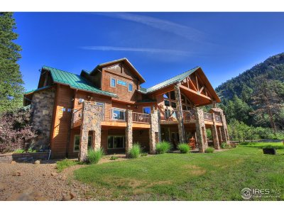 Estes Park CO Single Family Home For Sale: $1,750,000