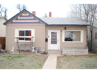 Greeley CO Single Family Home For Sale: $214,900
