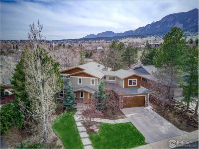 Boulder CO Single Family Home For Sale: $1,987,500