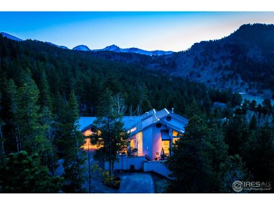 Estes Park CO Single Family Home For Sale: $985,000