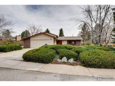 Boulder CO Single Family Home For Sale: $610,000
