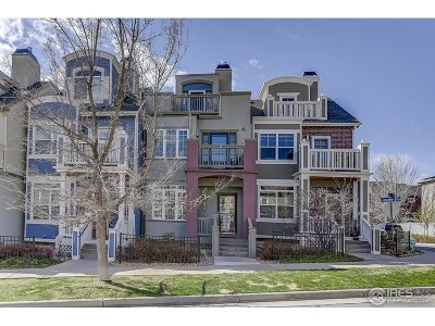 Boulder CO Condo/Townhouse For Sale: $834,900