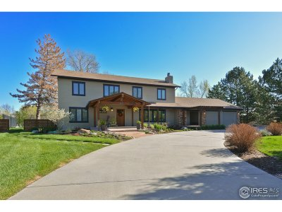 Longmont Single Family Home For Sale: 2806 Madison Dr