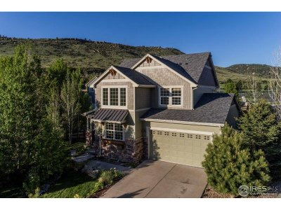Lyons CO Single Family Home For Sale: $650,000