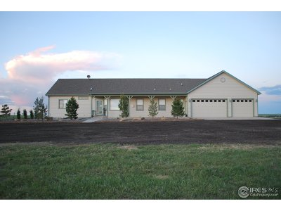 Briggsdale Single Family Home For Sale: 37670 County Road 69