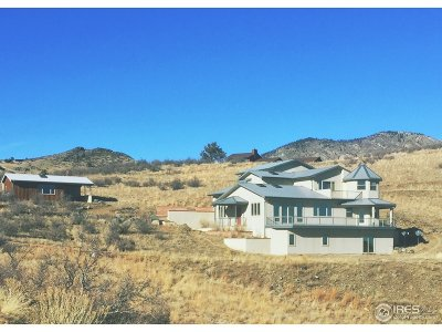 Lyons CO Single Family Home For Sale: $750,000