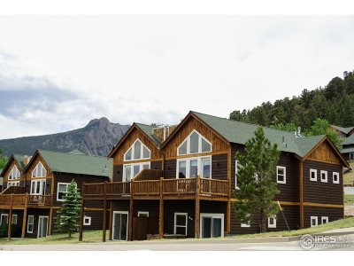 Estes Park Condo/Townhouse For Sale: 2625 Marys Lake Rd #33