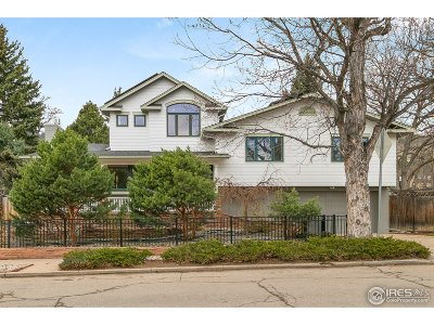 Boulder CO Single Family Home For Sale: $2,250,000