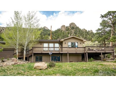Estes Park Single Family Home For Sale: 472 Marcus Ln