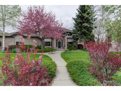 Boulder CO Single Family Home For Sale: $1,795,000