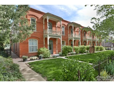Boulder County Condo/Townhouse Active-Backup: 417 Mapleton Ave #C