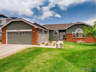 Weld County Single Family Home Active-Backup: 7708 W 11th St Rd