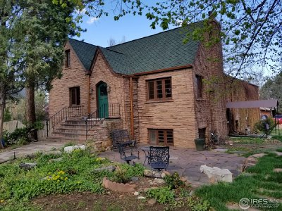 Boulder CO Single Family Home For Sale: $2,490,000