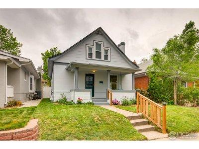 Denver Single Family Home Active-Backup: 3880 Osceola St