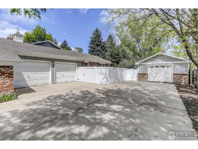 Fort Collins Single Family Home For Sale: 1504 Longs Peak Dr