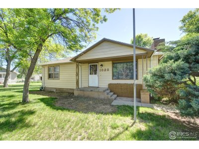 Berthoud Single Family Home For Sale: 1020 N 4th St