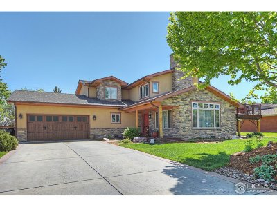 Boulder Single Family Home For Sale: 980 Sycamore Ave