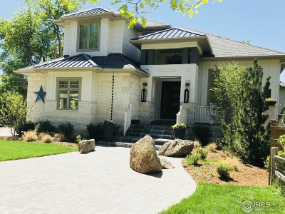 Boulder CO Single Family Home Active-Backup: $3,000,000