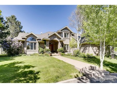 Longmont Single Family Home For Sale: 7289 Coyote Trl