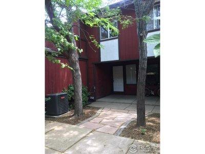 Boulder CO Condo/Townhouse For Sale: $529,900