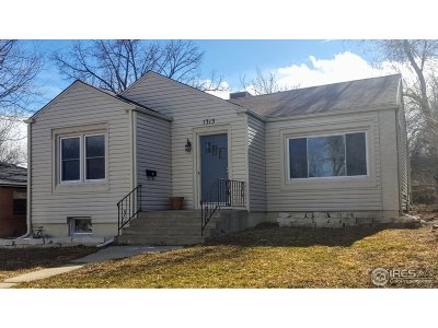Longmont CO Single Family Home For Sale: $499,000
