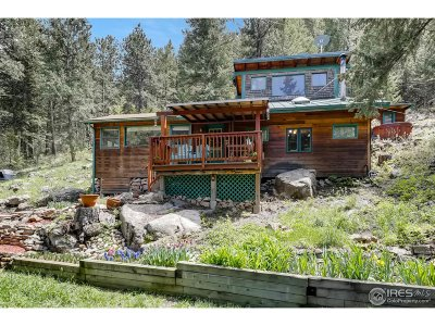 Jamestown Single Family Home For Sale: 8801 Lefthand Canyon Dr