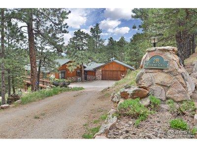 Boulder Single Family Home For Sale: 291 Wild Horse Cir