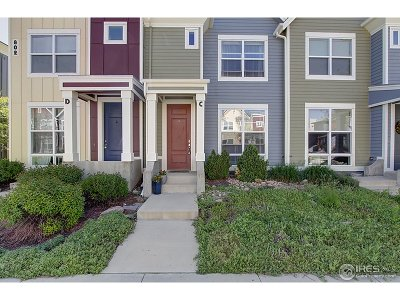 Fort Collins Condo/Townhouse For Sale: 802 Heschel St #C