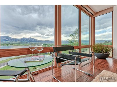 Boulder CO Single Family Home For Sale: $4,125,000